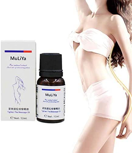 Weite Slimming Essential Oil, 10ml Premium Anti Cellulite Treatment Massage Oil, All Natural Ingredients, Targets Unwanted Fat Tissues and Improves Skin Firmness (Black)
