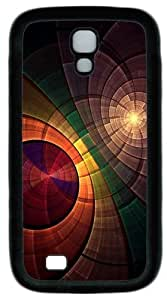 Cool Painting Samsung Galaxy I9500 Case and Cover -Abstract Circle Overlapping Custom PC Soft Case Cover Protector for Samsung Galaxy S4/I9500