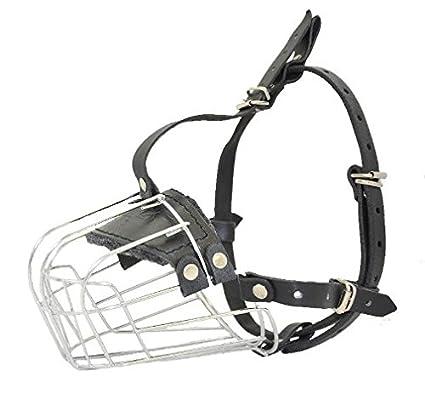 Amazon Com Viper Delta Metal Wire Basket Dog Muzzle 410cm X 14