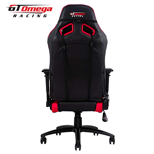 Gt Omega Elite Racing Gaming Chair With Ergonomic Lumbar