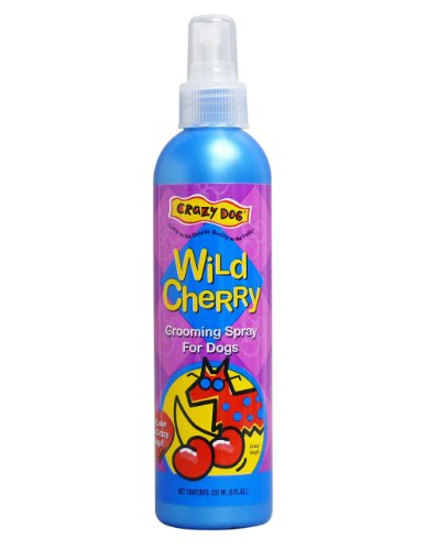 UPC 015568929441, Crazy Dog Grooming Spray 8oz Wild Cherry