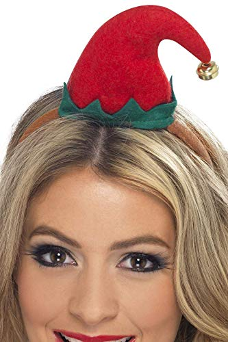 Mini Elf Hat On Headband -