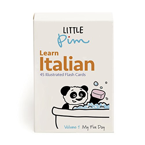 UPC 094922038746, Little Pim Italian Flash Cards for Kids