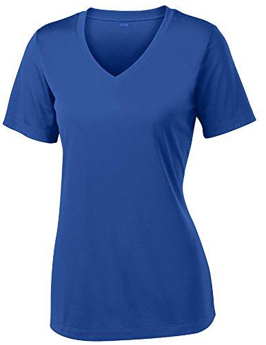 (Opna Women's Short Sleeve Moisture Wicking Athletic Shirt, X-Large, Royal )
