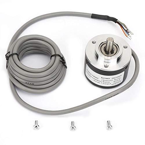 E6C2-CWZ6C Incremental Rotary Encoder,General-Purpose Encoder 50mm Diameter for - Module 200p