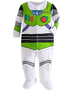 Store Toy Story Buzz Lightyear Costume Little Boy Footed Pajama 12-18 M