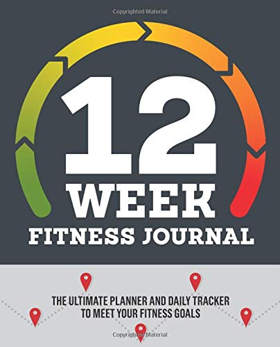 12 Week Fitness Journal Ultimate Planner product image