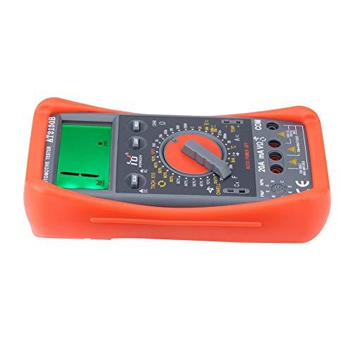 Akozon Tachometer Meter AT2150B Handheld Automotive Tachometer Meter/LCD Display Digital Multimeter by Akozon (Image #5)