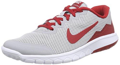 Silver Experience Nike Gym Flex Grey Grey Ragazza GS Metallic Scarpe 4 Red 006 Grau Sportive Wolf fwB6w