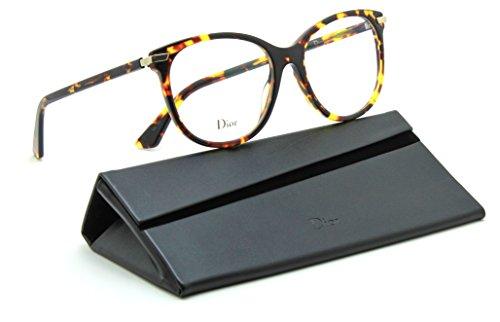 Dior Essence 11 Women RX - able Glasses Yellow Havana Frame 0SCL, - Glasses Dior Prescription