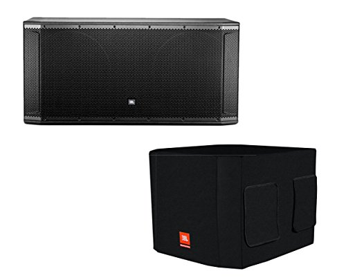 JBL SRX828SP + Deluxe Cover by JBL