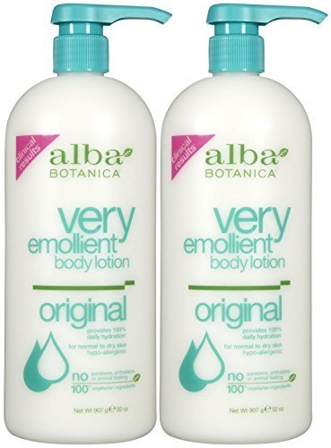 Alba Botanica Very Emollient Body Lotion - Original - 32 oz - 2 pk