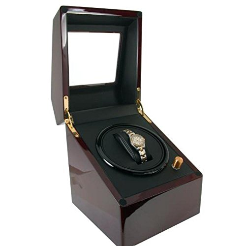 Single Watch Winder Wood by FindingKing (Image #1)