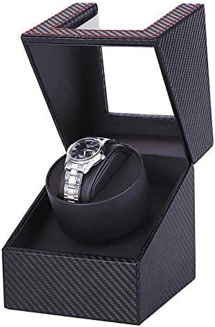 静かなモーターディスプレイボックスが付いている腕時計のために木自動PUの革腕時計の巻取り機箱