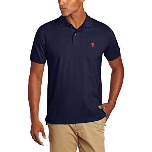 U.S. Polo Assn. Men's Solid Polo Shirt...