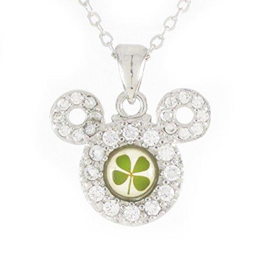 Leaf Clover Shamrock Necklace Pendant - 6