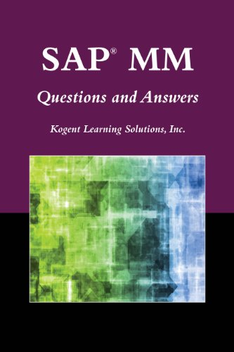 SAP® MM Questions and Answers (SAP Books) Pdf