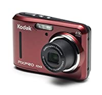 "Kodak PIXPRO Friendly Zoom FZ41 16 MP Digital Camera with 4X Optical Zoom and 2.7"" LCD Screen (Red) from KODC1"