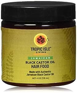 Tropic Isle Living- Jamaican Black Castor Oil Hair Food-4OZ