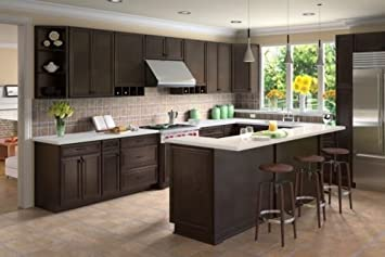NEW Forevermark K Series Expresso 10x10 RTA Kitchen Cabinets