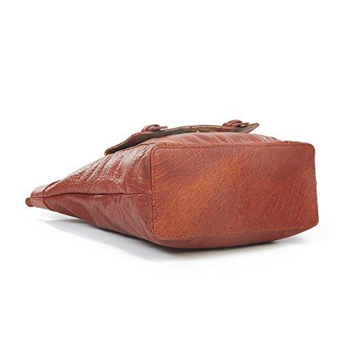 Lidia Boucle en cuir Shopping, Marron clair