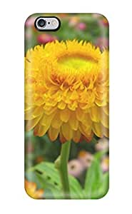 Excellent Case Cover For HTC One M7 Case Hard Cover Back Skin Protector Yellow Flowers