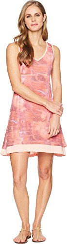 Dress Larissa - Marmot Women's Larissa Dress Rosebud Sprinkle Large