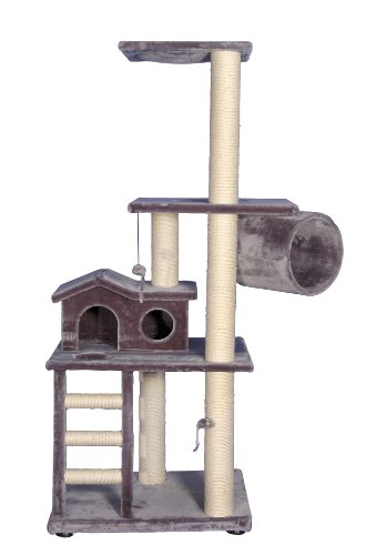 Nobby-62004-01-Caddy-Scratching-Post-Grey
