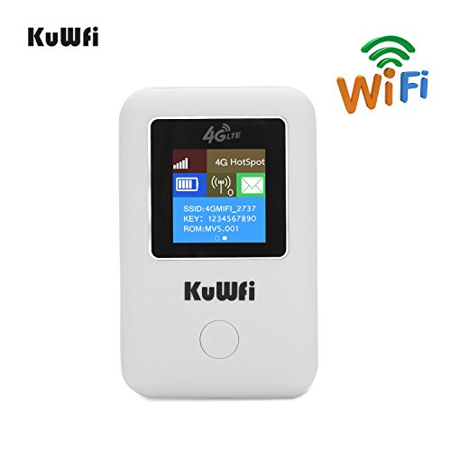 Portable Battery Powered Wifi Router - 8