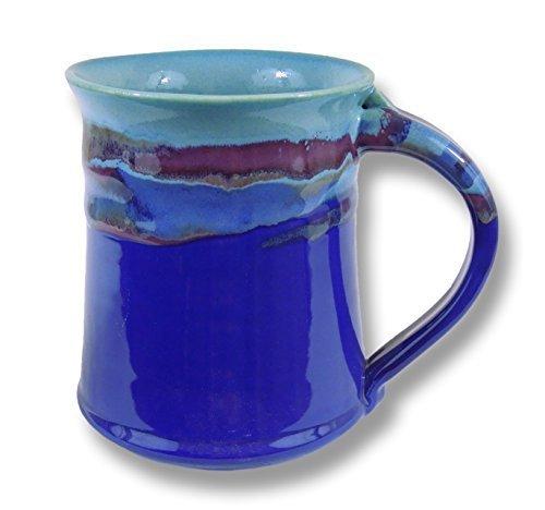 Clay In Motion Handmade Ceramic Medium Mug 16oz - Mystic Waters (1)