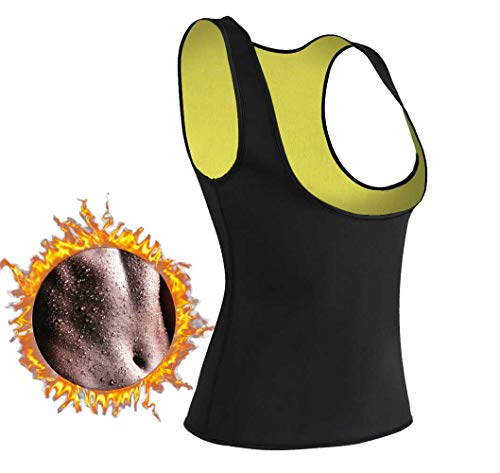 9379b14f4f Women Hot Sweat Vest Neoprene Sauna Vest for Weight Loss Tummy Fat Burner  Slimming Shapewear Hot