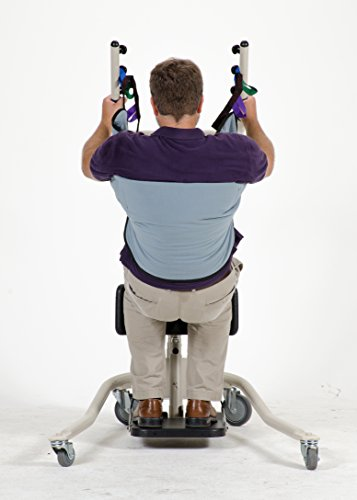 Deluxe Sit to Stand Patient Lift Sling With Belt, Stand Assist Sling, Size Large, 440lb Wgt Capacity by Patient Aid (Image #2)