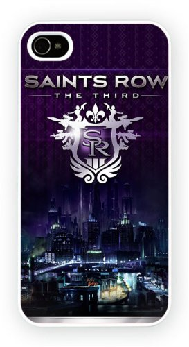 Saints Row The Third, iPhone 4 4S, Etui de téléphone mobile - encre brillant impression