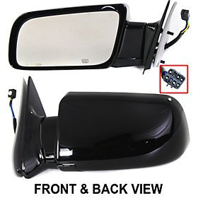 Suburban 2500 Mirror Lh Driver - Chevy C / K 1500 2500 3500 Suburban Tahoe Yukon 88 - 00 Power Heated Mirror Lh
