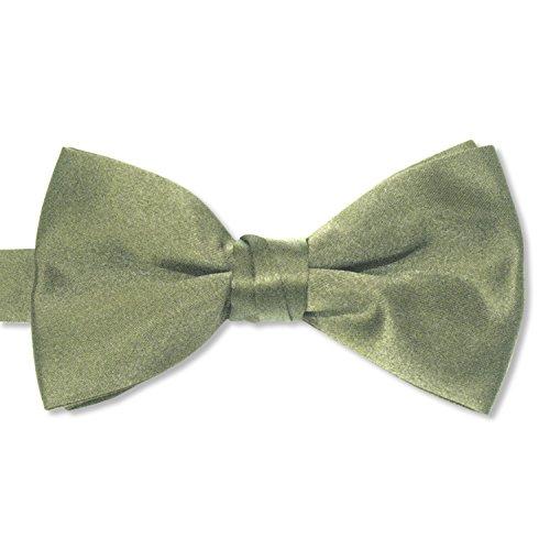 Satin Bow Ties (Mens, Fino Celedon Green)