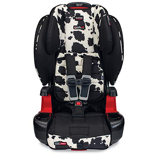 Britax Frontier ClickTight Harness-2-Booster Car Seat – 2 Layer Impact Protection – 25 to 120 Pounds, Cowmooflage