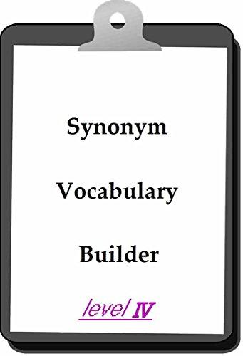 Synonym Vocabulary Builder 〔Level Four〕