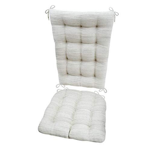 Barnett Products Rocking Chair Cushions - Brisbane Mist - La