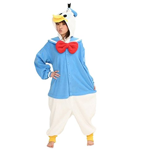 [Cozyin Kigurumi Pajamas Adult Animal Donald Duck Size xL] (Donald Duck Costumes For Adults)