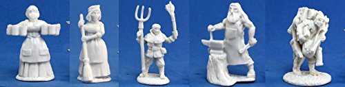 Reaper Bones Collection - Townsfolk pack