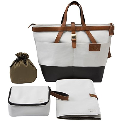 Infant Quinny X Rachel Zoe 'Jet Set' Canvas Diaper Bag -