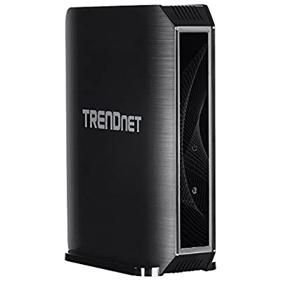 TRENDnet TEW-824DRU AC1750 Dual Band Wireless AC Gigabit Router, 2.4GHz 450Mbps, 5Ghz 1300Mbps, 2 USB Port, IPv6, for DD-WRT