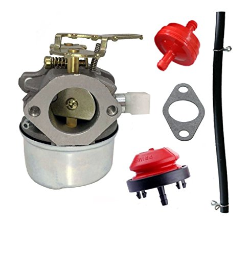 Janrui Carburetor for TECUMSEH 5HP MTD 632107A 632107 640084B 640084A TORO 521 Snow Blower HSSK40 HSSK50 HS50 LH195SA Carb