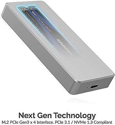 Sabrent SSD Externo de Aluminio Rocket Pro 1TB NVMe USB 3.1 [hasta ...