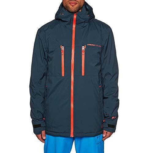 18 Navy Blue Clavin Homme De Veste Ski Protest pn5wOYqw