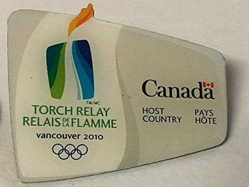 (2010 Vancouver Olympic Torch Relay Pin)