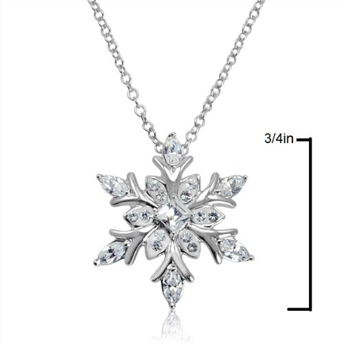 Wedding Ring Necklace Holder 49 Luxury Amazon Sterling Silver Snowflake