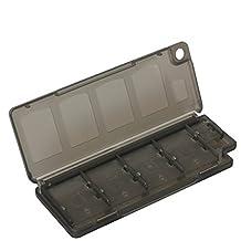 Timorn 10 in 1 Plastic Video Game Card Storage Case Memory Card Holder Box for Sony Playstation PS Vita PSV PSV2000 (Black)