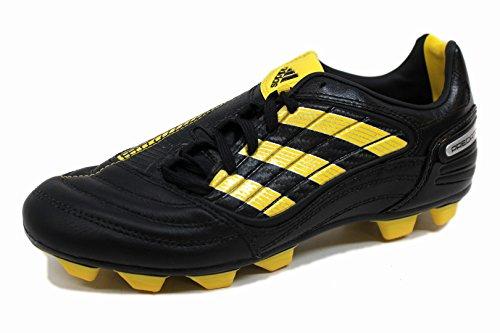 adidas Absolado X TRX FG KIDS WC Soccer Shoes (Sea of Yellow-Black/Sun/Metallic Silver) - Absolado Trx Fg Soccer Shoe