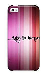 New Cute Funny Age Is Beauty Hd Case Cover/ Iphone 5c Case Cover